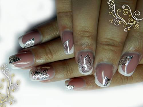 Дизайн ногтей с наклейками видео