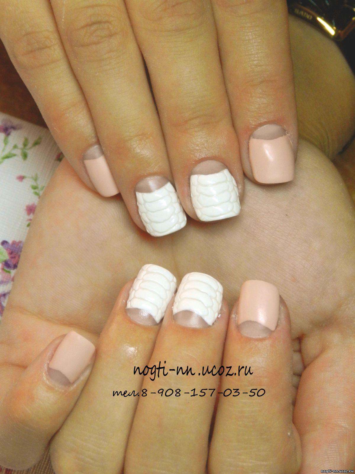 Нарощенные ногти размер 2