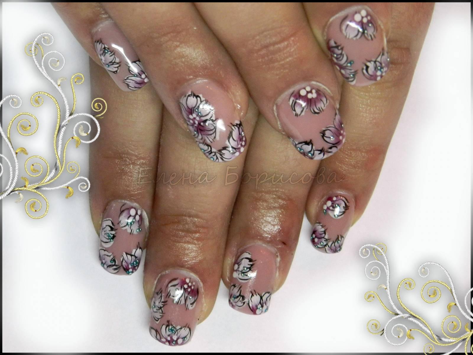 Новогодние дизайны ногтей от екатерины мирошниченко